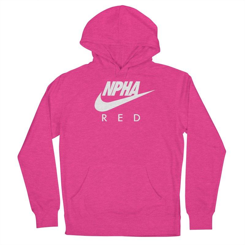 NPHA RED II (Men's & Women's) Women's French Terry Pullover Hoody by NPHA.SHOP
