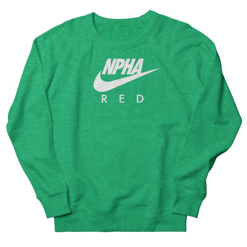 NPHA RED II (Men's & Women's) Women's French Terry Sweatshirt by NPHA.SHOP