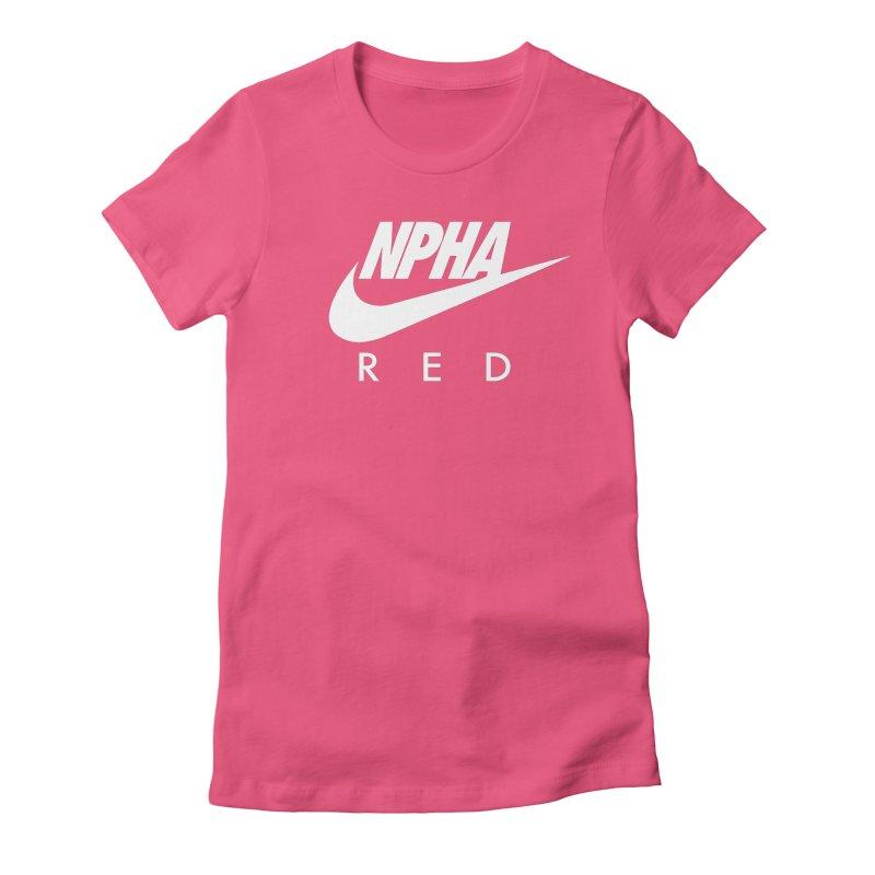 NPHA RED II (Men's & Women's) Women's Fitted T-Shirt by NPHA.SHOP
