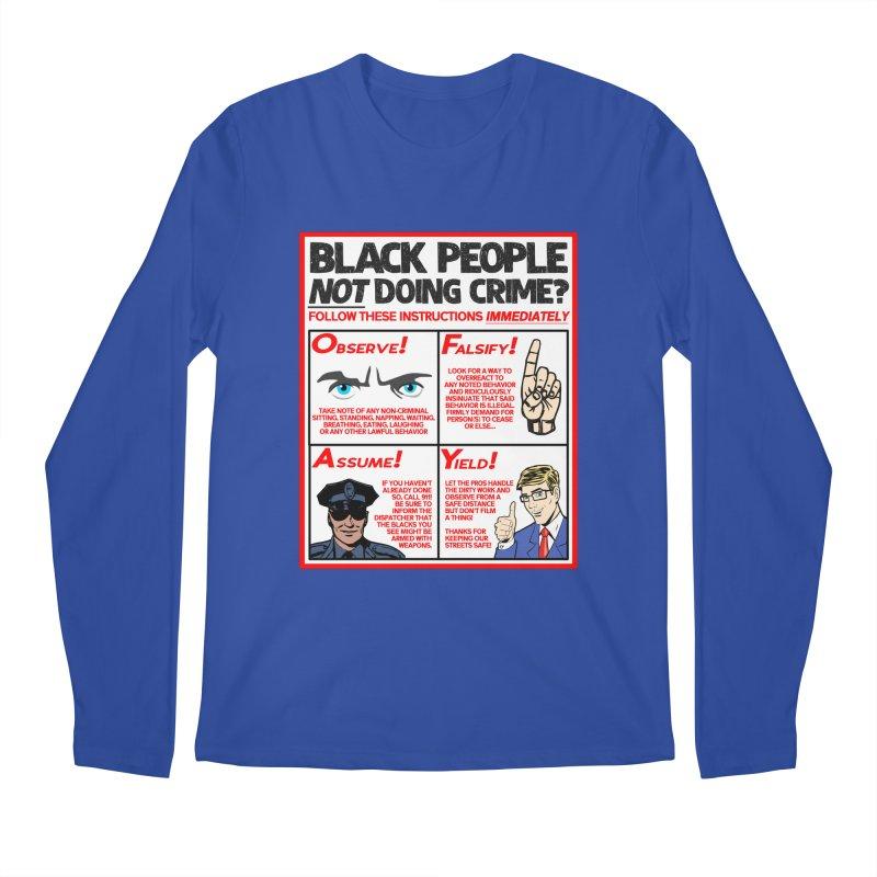Living While Black (Men's & Women's) Men's Regular Longsleeve T-Shirt by NPHA.SHOP