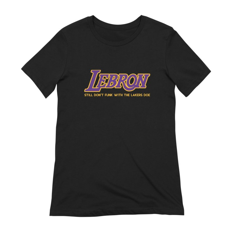 L.A. Bron (Men's & Women's) Women's Extra Soft T-Shirt by NPHA.SHOP