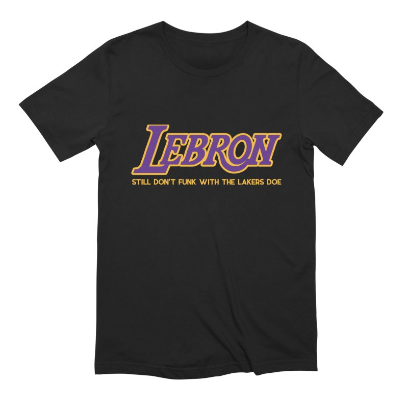 L.A. Bron (Men's & Women's) Men's Extra Soft T-Shirt by NPHA.SHOP