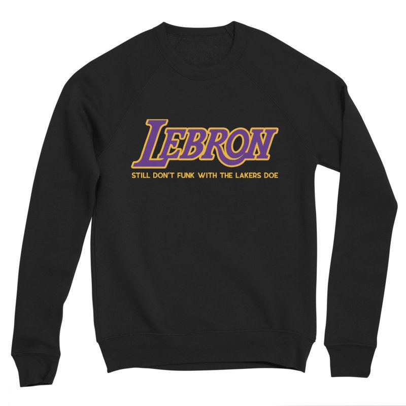 L.A. Bron (Men's & Women's) Men's Sponge Fleece Sweatshirt by NPHA.SHOP