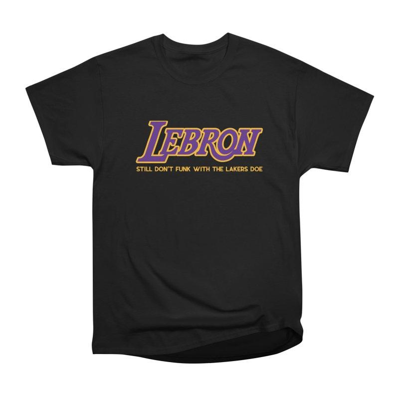 L.A. Bron (Men's & Women's) Men's Heavyweight T-Shirt by NPHA.SHOP