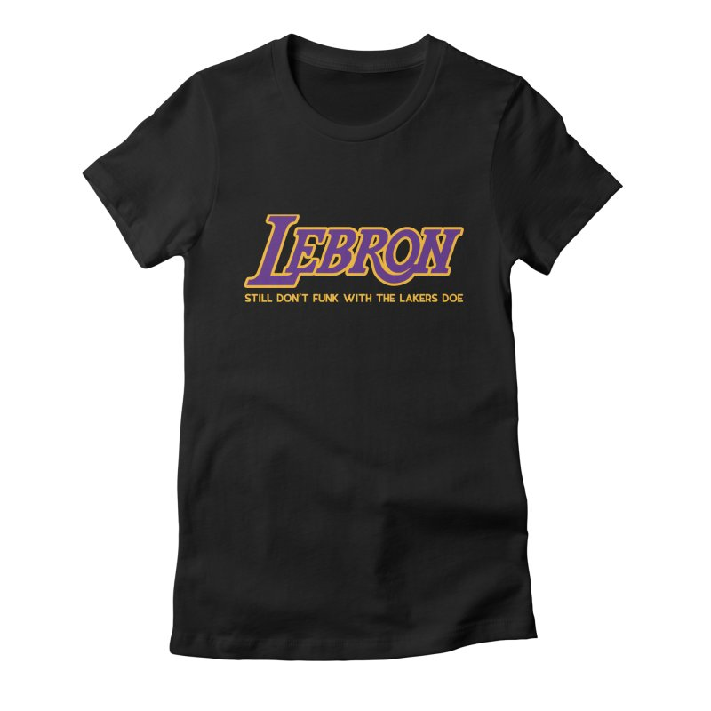 L.A. Bron (Men's & Women's) Women's Fitted T-Shirt by NPHA.SHOP
