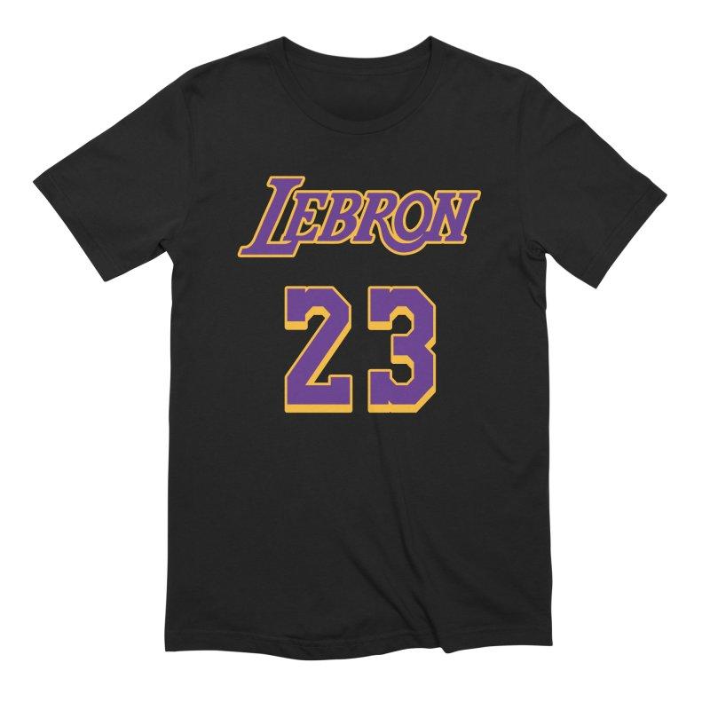 L.A. Bron Alternate (Men's & Women's) Men's Extra Soft T-Shirt by NPHA.SHOP