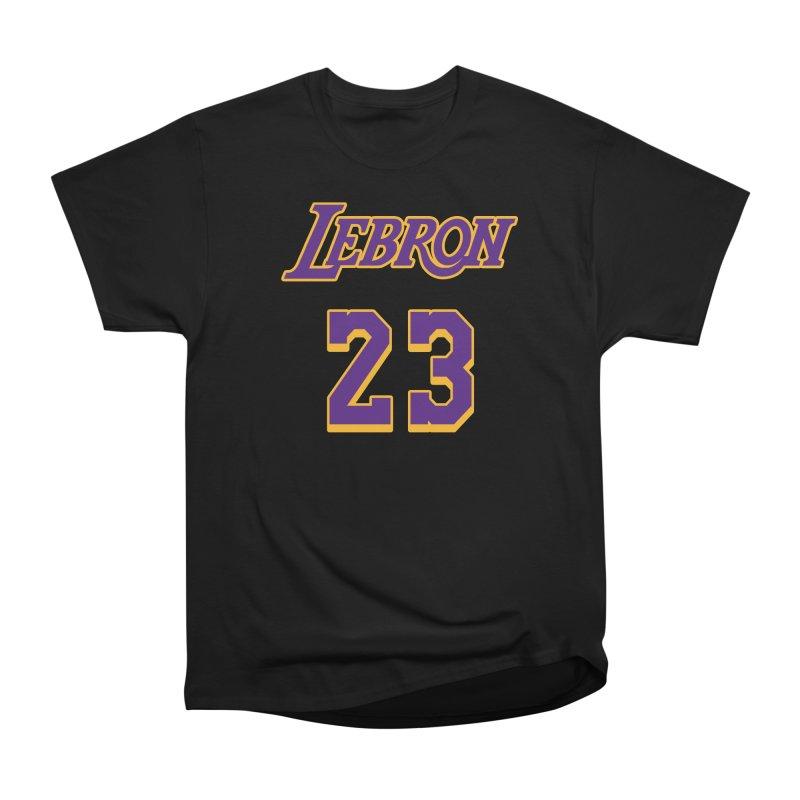 L.A. Bron Alternate (Men's & Women's) Women's Heavyweight Unisex T-Shirt by NPHA.SHOP