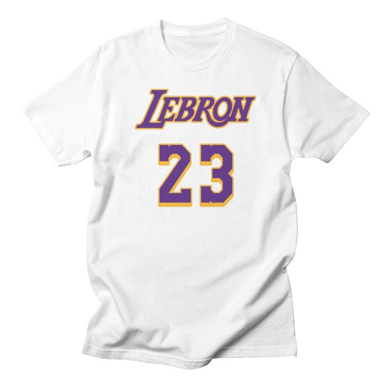 L.A. Bron Alternate (Men's & Women's) Men's Regular T-Shirt by NPHA.SHOP