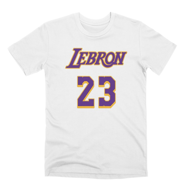 L.A. Bron Alternate (Men's & Women's) Men's Premium T-Shirt by NPHA.SHOP