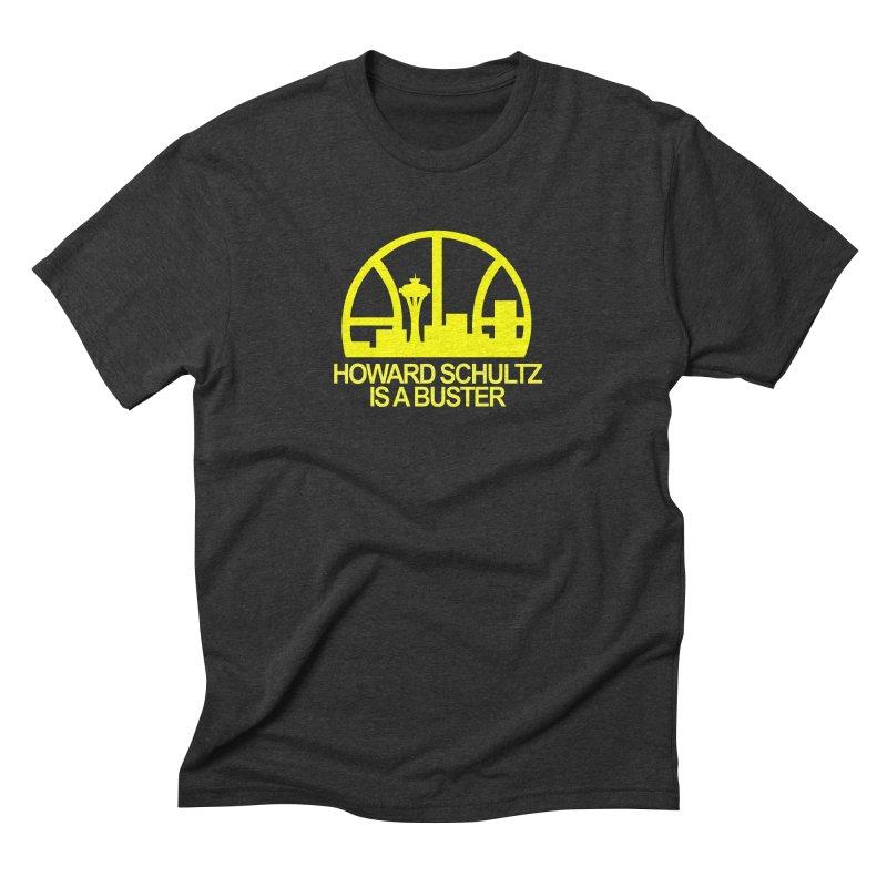 Howard Schultz Is A Buster (Men's & Women's) Men's Triblend T-Shirt by NPHA.SHOP