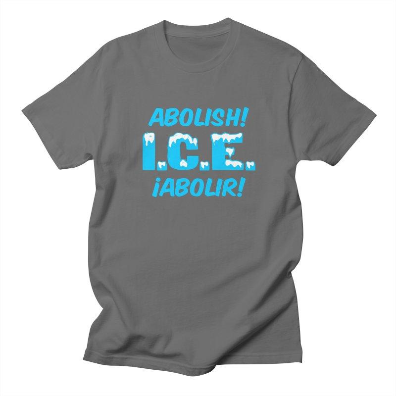 Abolish I.C.E. (Men's & Women's) Men's Regular T-Shirt by NPHA.SHOP