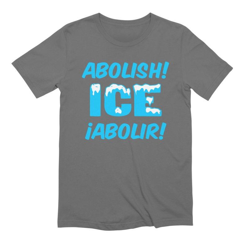 Abolish I.C.E. (Men's & Women's) Men's Extra Soft T-Shirt by NPHA.SHOP