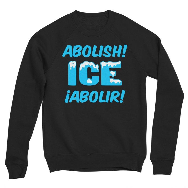 Abolish I.C.E. (Men's & Women's) Men's Sponge Fleece Sweatshirt by NPHA.SHOP