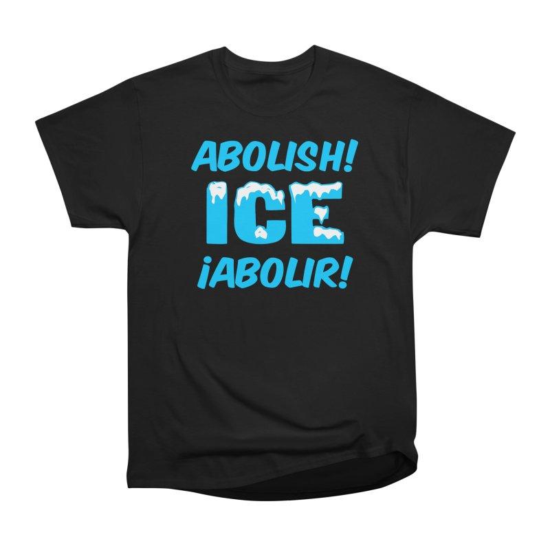 Abolish I.C.E. (Men's & Women's) Men's Heavyweight T-Shirt by NPHA.SHOP