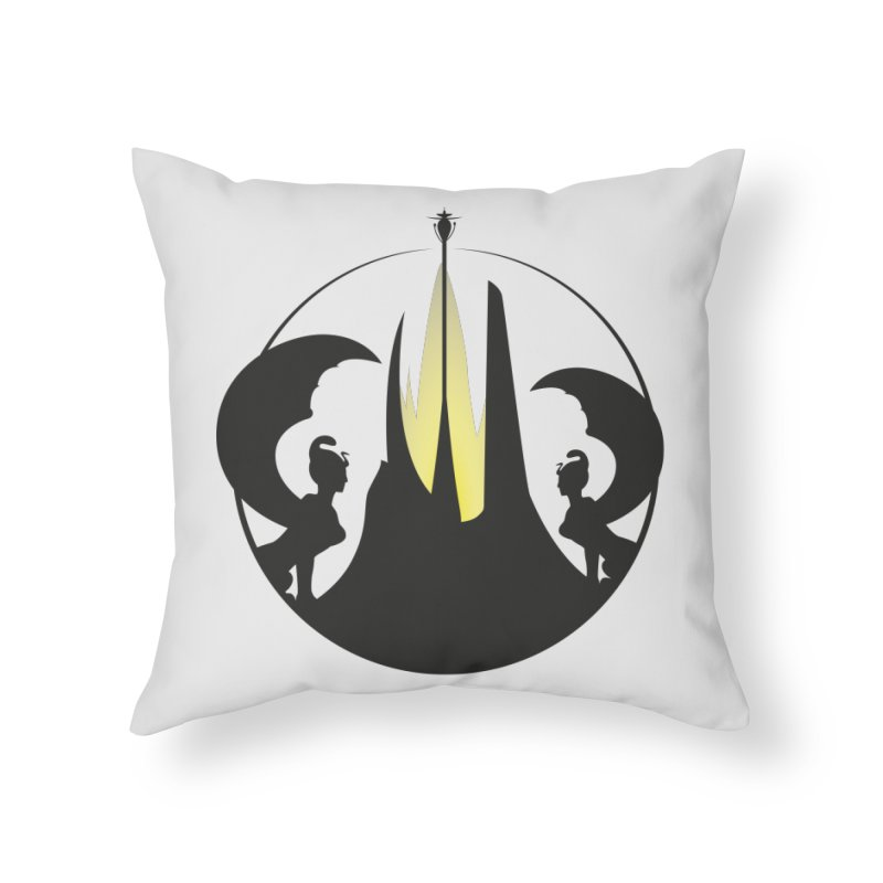 Never End in Throw Pillow by nrdshirt's Shop