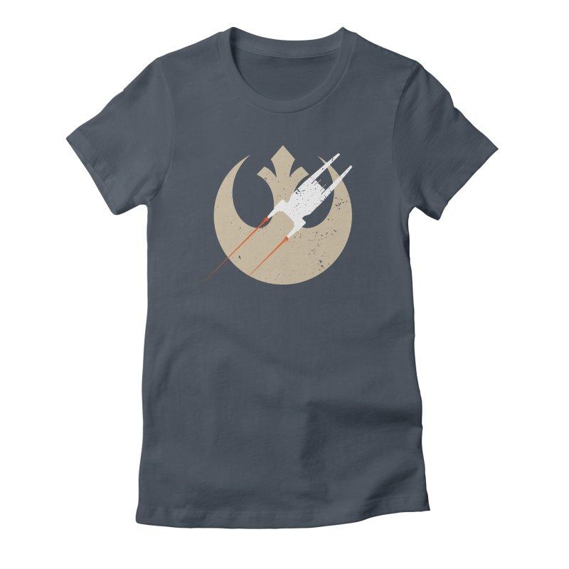 U got wings? Women's Fitted T-Shirt by nrdshirt's Shop