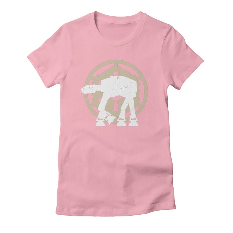 ATAT walking Women's Fitted T-Shirt by nrdshirt's Shop