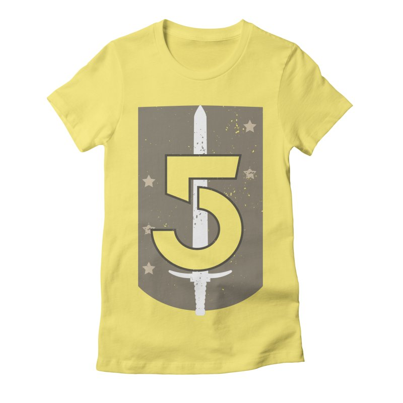 Babylon 5 Women's Fitted T-Shirt by nrdshirt's Shop