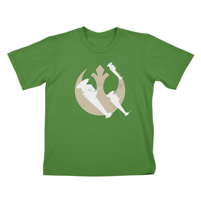 B-Wings in Kids T-shirt Clover by nrdshirt's Shop