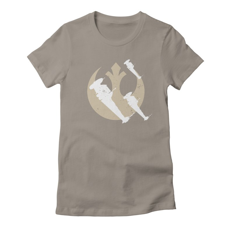 B-Wings Women's Fitted T-Shirt by nrdshirt's Shop