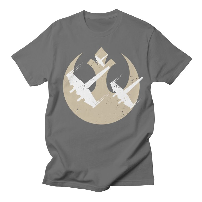 Resist X-Wings in Men's Regular T-Shirt Asphalt by nrdshirt's Shop