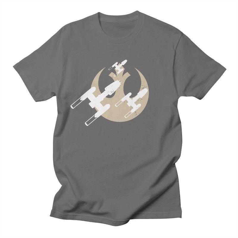 Y wings Men's T-Shirt by nrdshirt's Shop