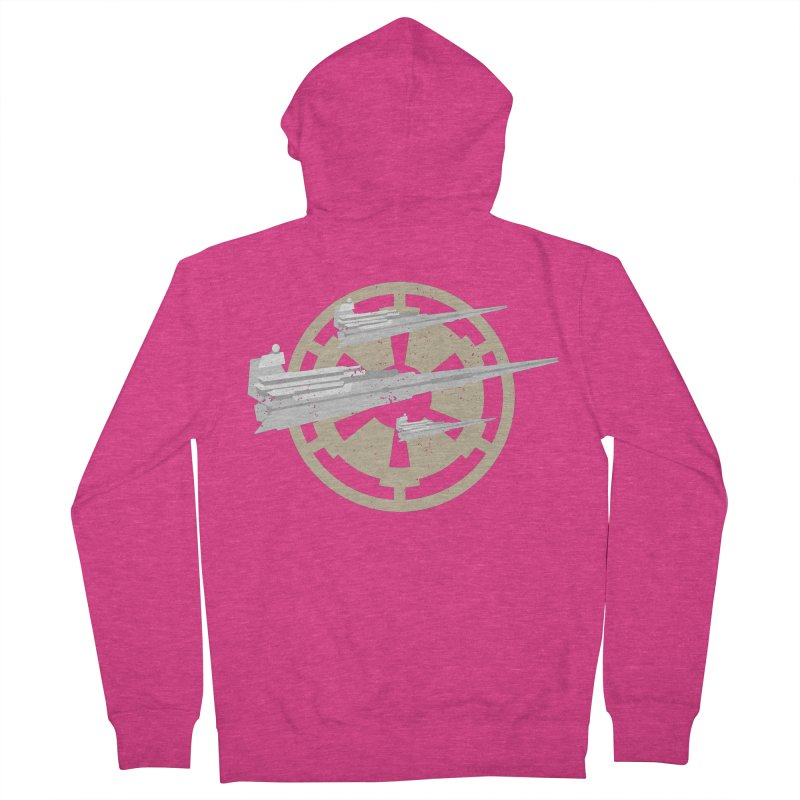 Destroy Stars Women's French Terry Zip-Up Hoody by nrdshirt's Shop