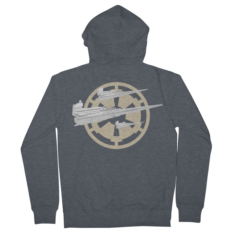 Destroy Stars Men's Zip-Up Hoody by nrdshirt's Shop