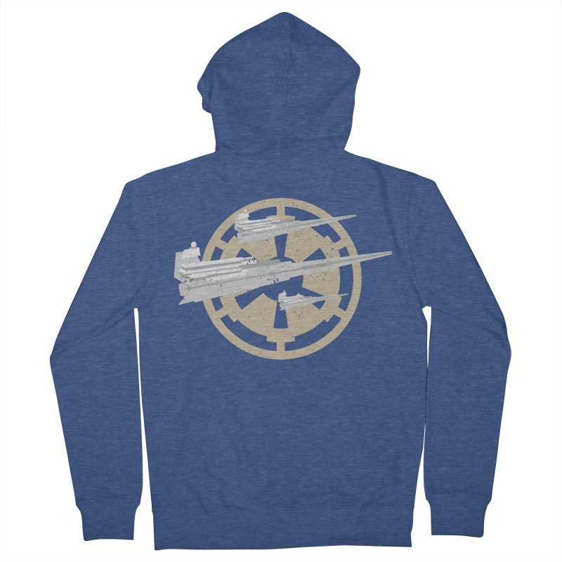 Destroy Stars Men's French Terry Zip-Up Hoody by nrdshirt's Shop