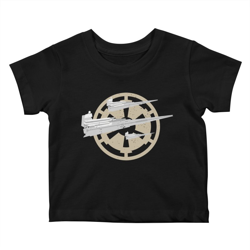 Destroy Stars Kids Baby T-Shirt by nrdshirt's Shop