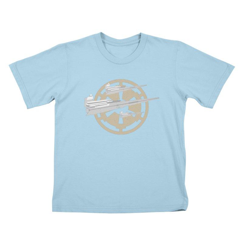 Destroy Stars Kids T-Shirt by nrdshirt's Shop