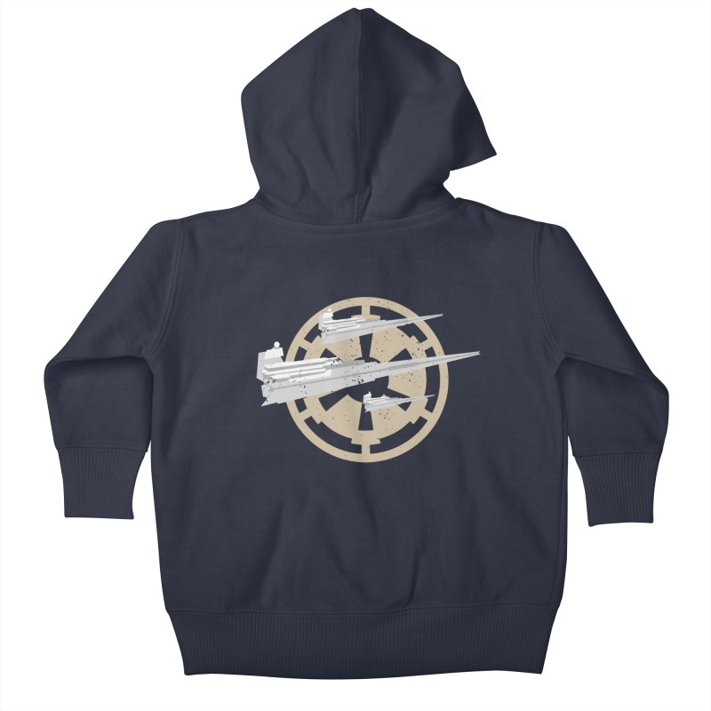 Destroy Stars Kids Baby Zip-Up Hoody by nrdshirt's Shop