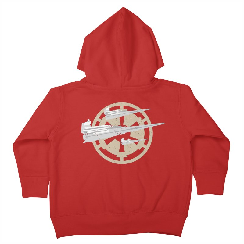 Destroy Stars Kids Toddler Zip-Up Hoody by nrdshirt's Shop