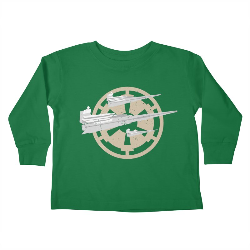 Destroy Stars Kids Toddler Longsleeve T-Shirt by nrdshirt's Shop