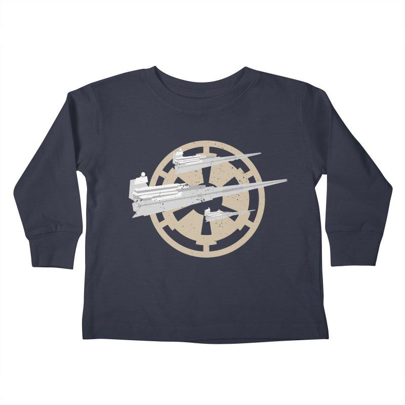 Destroy Stars Kids Toddler Longsleeve T-Shirt by nrdshirt's Shop