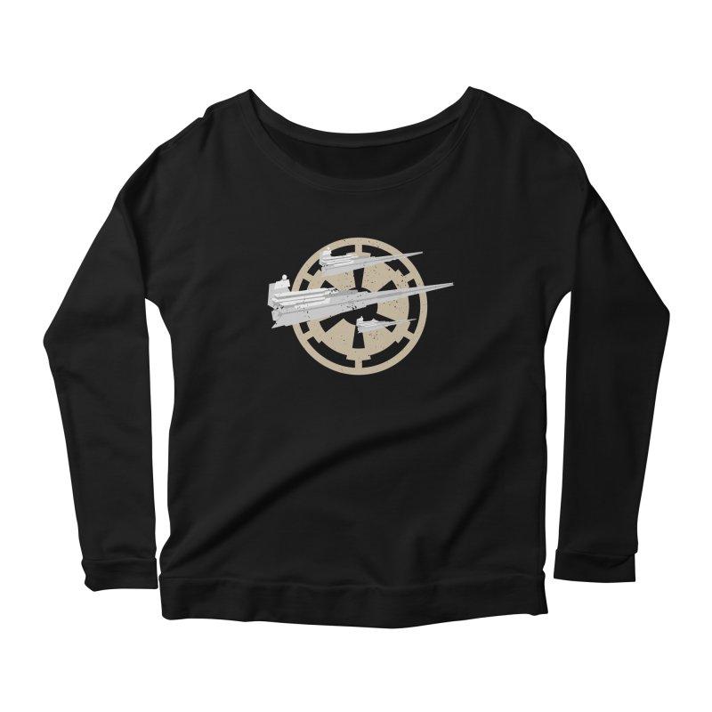 Destroy Stars Women's Scoop Neck Longsleeve T-Shirt by nrdshirt's Shop