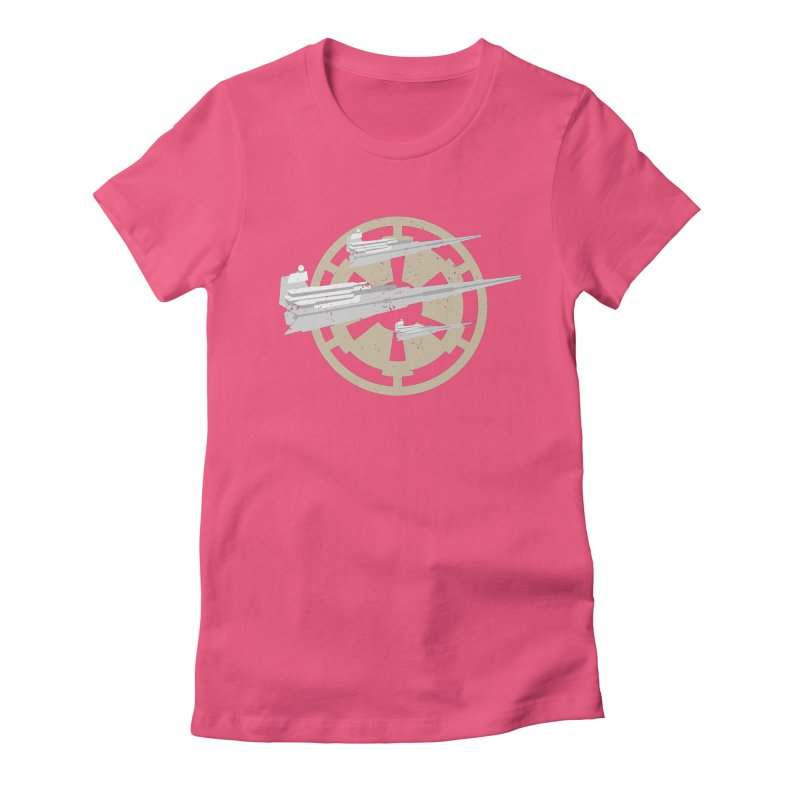 Destroy Stars Women's Fitted T-Shirt by nrdshirt's Shop