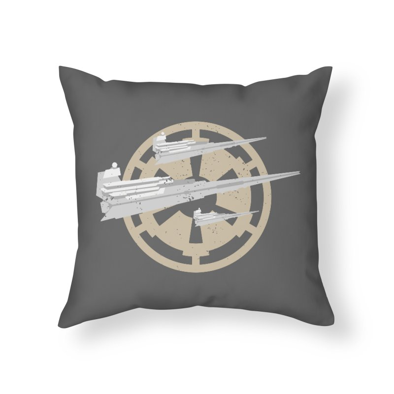 Destroy Stars Home Throw Pillow by nrdshirt's Shop