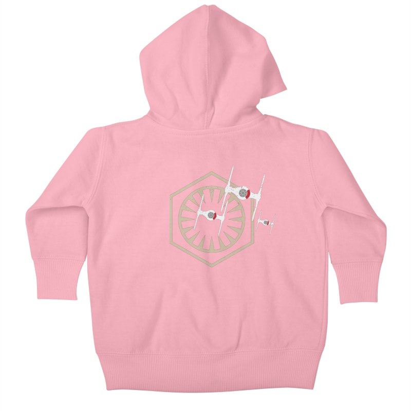 TFA Fighters Kids Baby Zip-Up Hoody by nrdshirt's Shop
