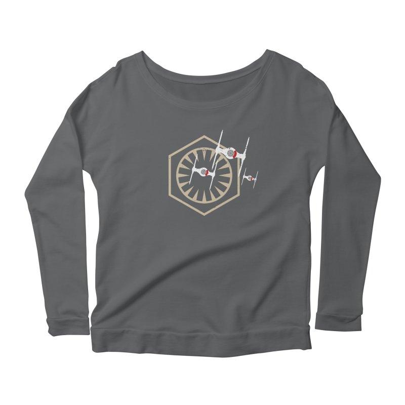 TFA Fighters Women's Scoop Neck Longsleeve T-Shirt by nrdshirt's Shop