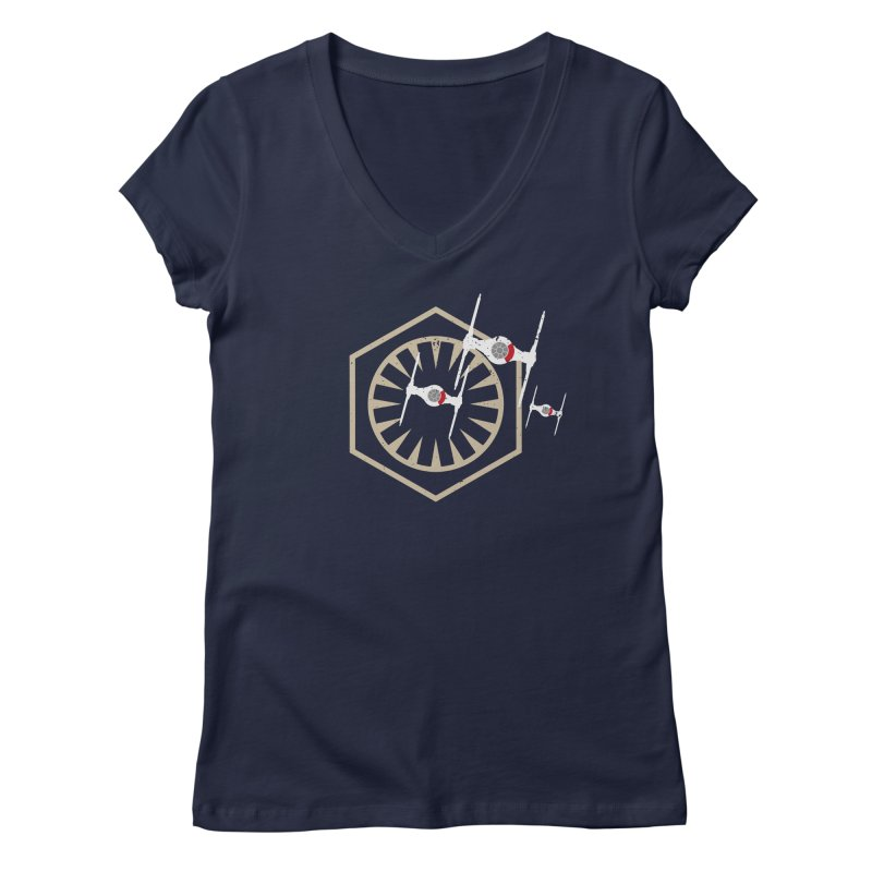 TFA Fighters Women's V-Neck by nrdshirt's Shop
