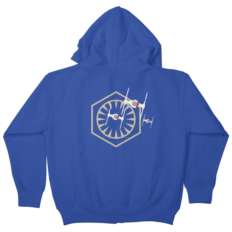 TFA Fighters Kids Zip-Up Hoody by nrdshirt's Shop