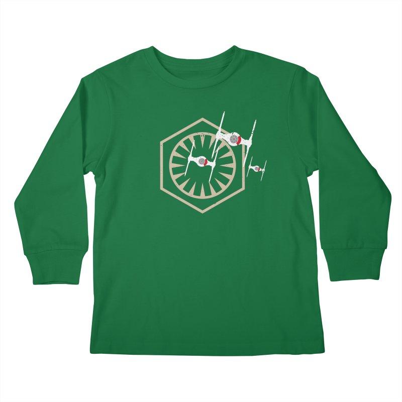 TFA Fighters Kids Longsleeve T-Shirt by nrdshirt's Shop