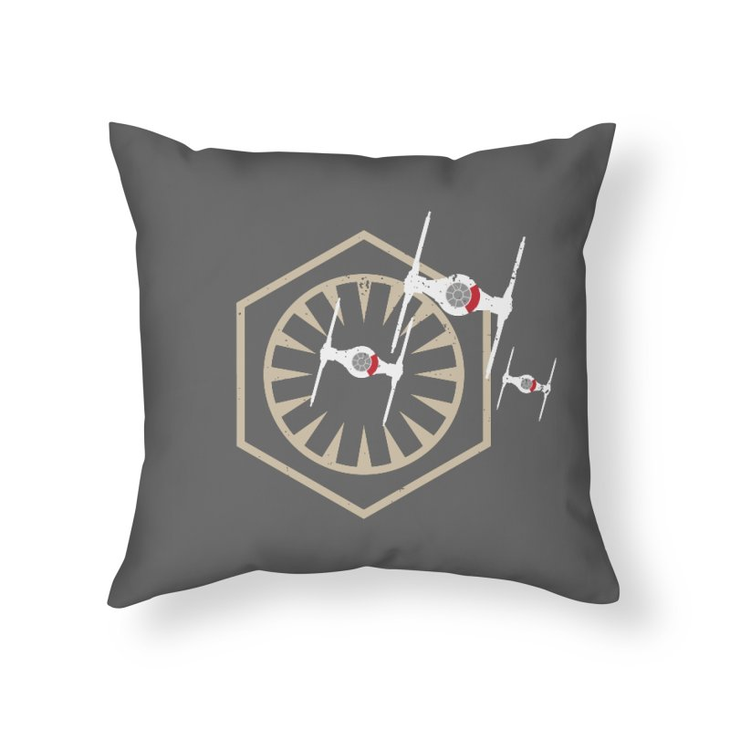 TFA Fighters Home Throw Pillow by nrdshirt's Shop