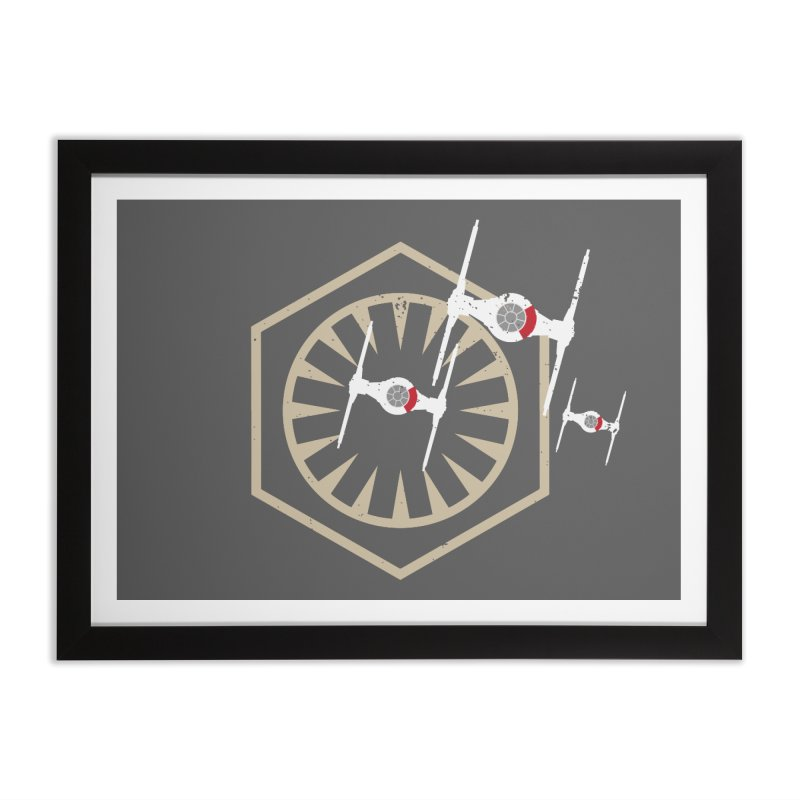 TFA Fighters Home Framed Fine Art Print by nrdshirt's Shop