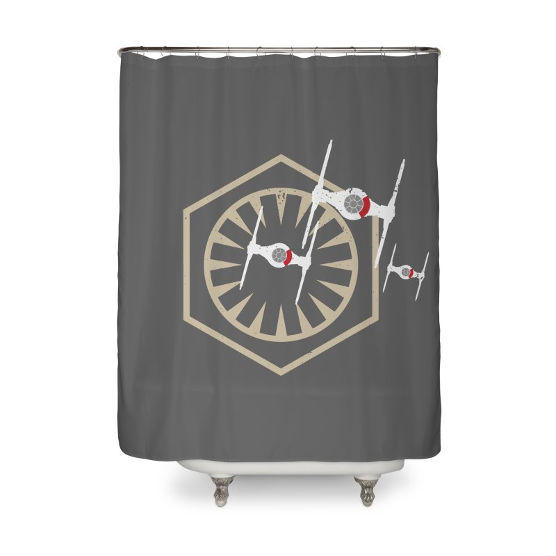 TFA Fighters Home Shower Curtain by nrdshirt's Shop