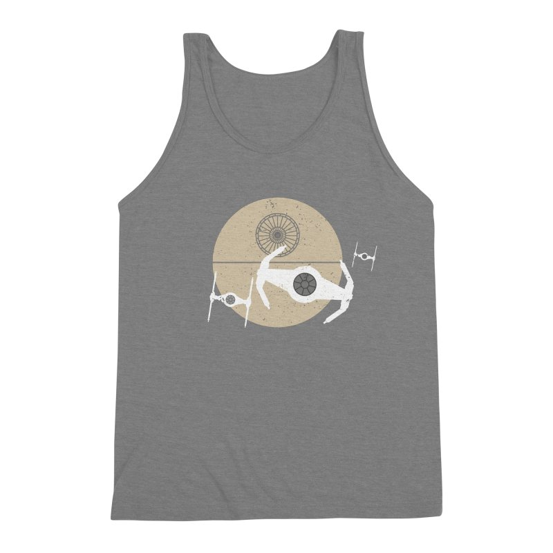 On the Leader Men's Triblend Tank by nrdshirt's Shop