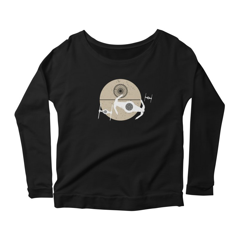 On the Leader Women's Scoop Neck Longsleeve T-Shirt by nrdshirt's Shop