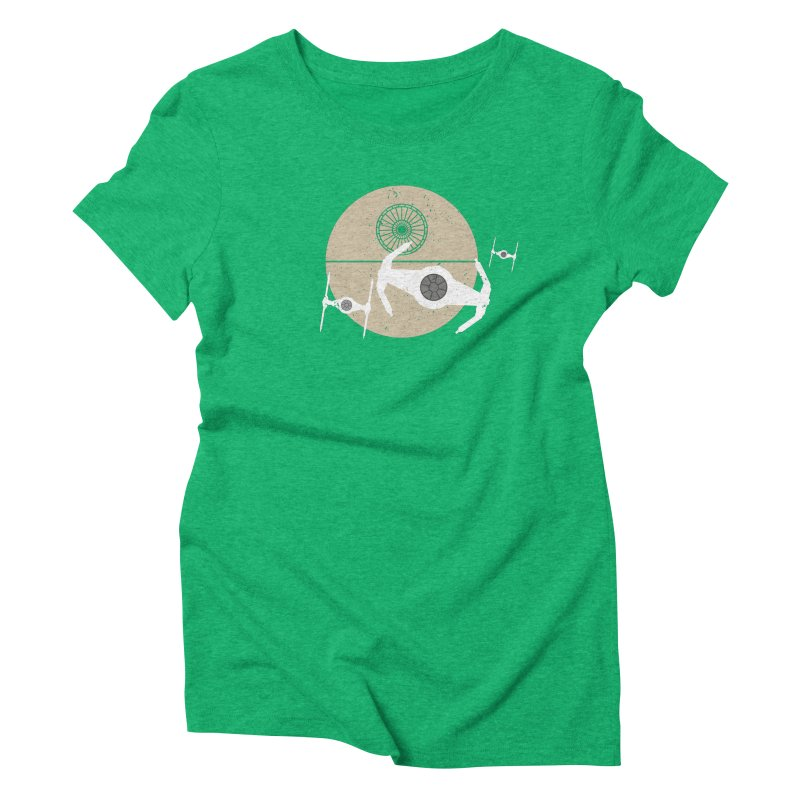 On the Leader Women's Triblend T-shirt by nrdshirt's Shop