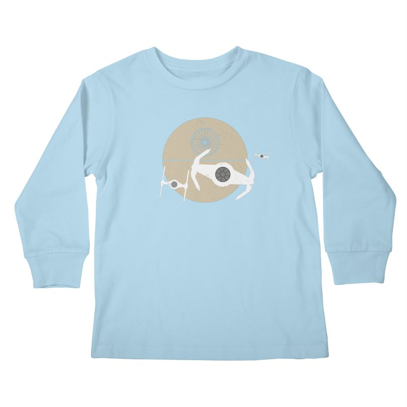 On the Leader Kids Longsleeve T-Shirt by nrdshirt's Shop